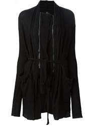 Lost And Found Ria Dunn Zipped Belted Jacket Black