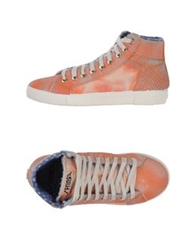 Springa High Tops And Trainers Rust