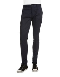 Guess Slim Fit Cargo Pants Dark Blue