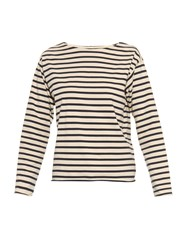 Mih Jeans Mariniere Stripped Long Sleeved T Shirt