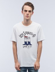 Levi's Bound Neck Gaphic S S T Shirt