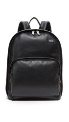 Jack Spade Mason Leather Backpack Black
