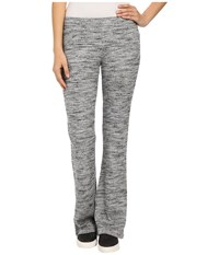 Splendid Brushed Tri Blend Poorboy Pants Heather Grey Women's Casual Pants Gray