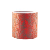 Clarissa Hulse Feather Fern Lampshade Storm Tiger Lily Small