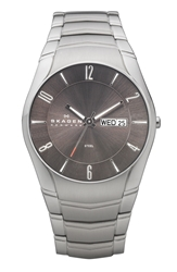 Skagen 'Laurits' Round Bracelet Watch 38Mm Metallic Silver