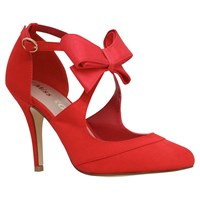 Miss Kg Belle Bow Detail Cut Away Courts Red