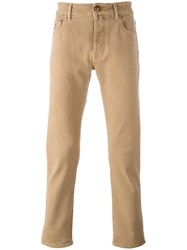 Jacob Cohen Slim Fit Jeans Nude Neutrals