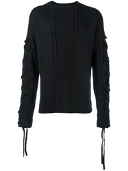 Stampd 'Harbour' Jumper Black