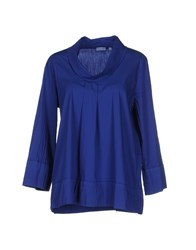 Rossopuro Shirts Blouses Women Bright Blue