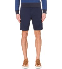 Hugo Boss Regular Fit Mid Rise Shorts Navy