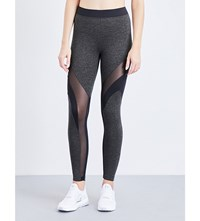 Koral Frame Stretch Jersey Leggings Military Green Black