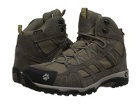 Jack Wolfskin Vojo Hike Mid Texapore Dark Sulphur Men's Shoes Brown