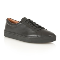 Frank Wright Eddie Lace Up Casual Trainers Black