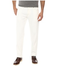Dkny Bleecker Jeans In White Denim White Denim Men's Jeans