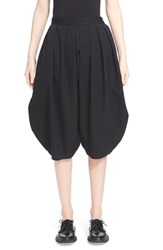Women's Comme Des Garcons Wool Gabardine Bloomer Shorts