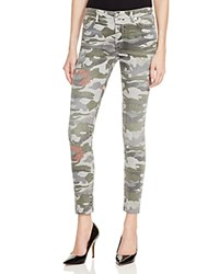 True Religion Halle Super Skinny Jeans In Camo Floral