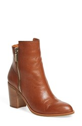 Kenneth Cole Women's New York 'Ingrid' Bootie Medium Brown Leather