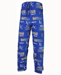 Concepts Sport Men's Kansas City Royals Sweep Sleep Pants Blue