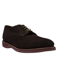 Walk Over Lace Up Shoes Brown