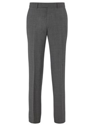 Chester By Chester Barrie Prince Of Wales Check Suit Trousers Grey