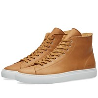 Common Projects Tournament High Leather Brown