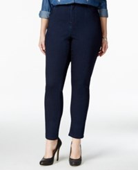 Nanette By Nanette Lepore Plus Size Gramercy Cropped Jeans Only At Macy's Tokyo