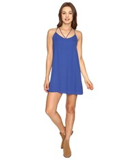Lucy Love Ask Me Out Dress Electric Blue Women's Dress