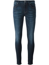 Vivienne Westwood Anglomania 'New Monroe' Skinny Jeans Blue