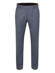 Limehaus Baker Airforce Pindot Slim Fit Trouser Airforce Blue