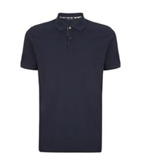 Aquascutum London Logo Polo Shirt Navy