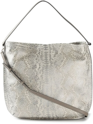 Hogan Snakeskin Effect Hobo Bag