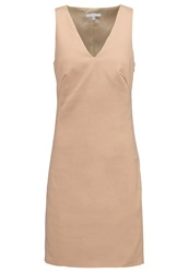 Patrizia Pepe Shift Dress Soft Beige