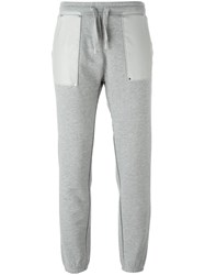 Zoe Karssen Patch Pocket Track Pants Grey