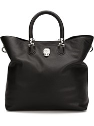 Philipp Plein 'Initiative' Tote Black