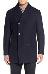 Nordstrom Men's Men's Shop Classic Wool Blend Peacoat