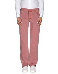 Brooksfield Trousers Casual Trousers Men Pastel Pink