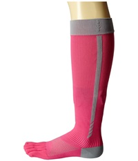 Toesox Sport Compression Knee High Flush 4 Am Women's Knee High Socks Shoes Pink