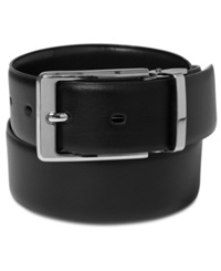 Perry Ellis Mr. Strong Reversible Belt Black Brown
