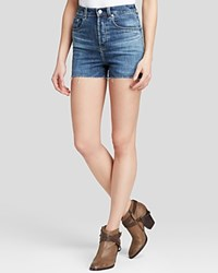Alexa Chung For Ag Shorts Fifi High Rise Cutoff In Dare
