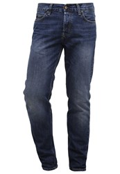 Carhartt Wip Texas Straight Leg Jeans Blue Rope Washed Bleached Denim