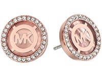 Michael Kors Logo Earrings Rose Gold Mother Of Pearl Earring