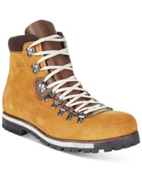 Woolrich Men's Waterproof Suede Packer Boots Men's Shoes Rust Copper