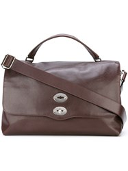 Zanellato 'Postina' Tote Bag Brown