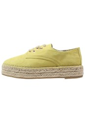 Evenandodd Espadrilles Yellow