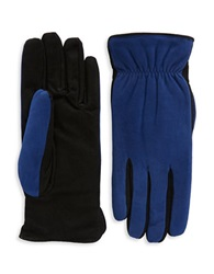 Grandoe Suede Touch Gloves Royal Blue