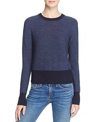 Rag And Bone Jean Taylor Crew Sweater Navy