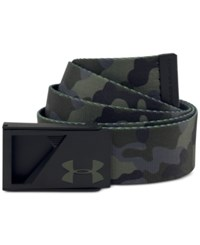 Under Armour Men's Range Webbing Camo Belt Green