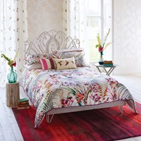 Harlequin Paradise Flamingo Duvet Cover Double
