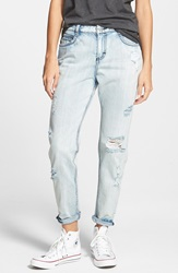 Rvca 'Slackker' Jeans Washed Out Blue