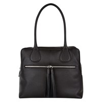 Hobbs Winchester Leather Tote Bag Black